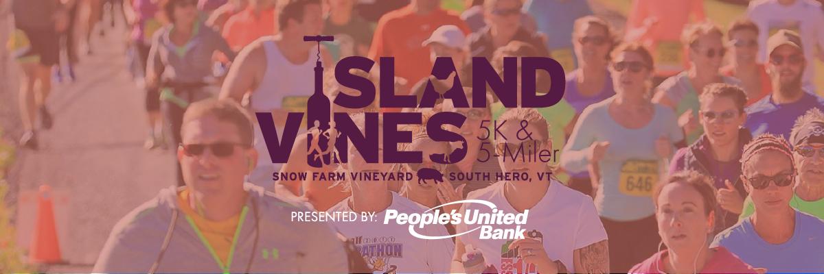 vermont running island vines graphic