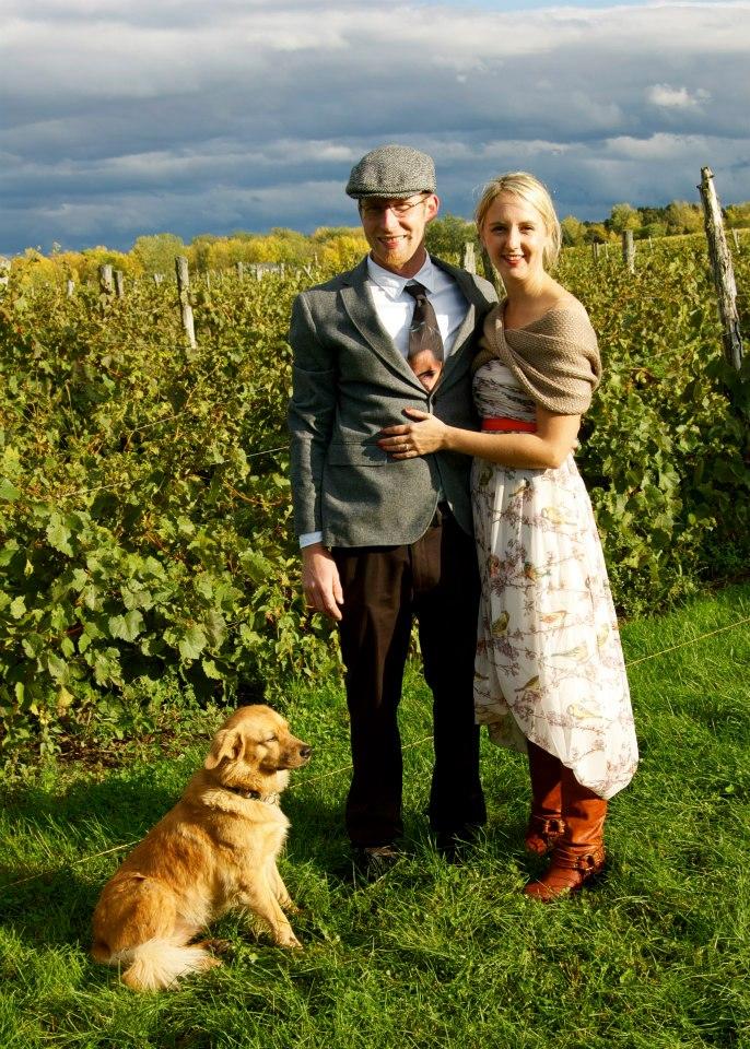 Bride&GroomSnowfarm wedding